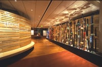 An art fence is among the displays at the Heard Museum.
