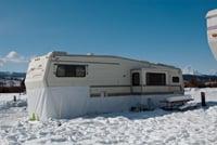 Grand Teton Park RV Resort in Jackson Hole is open year-round.