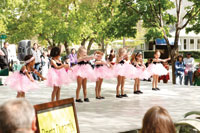 Children entertain at the Dogwood Festival of the Lewis-Clark Valley.
