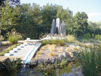 McConnell Arboretum & Botanical Gardens extend over 200 acres.