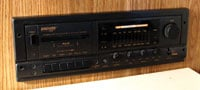 The old stereo ate tapes and was almost as big as a breadbox.
