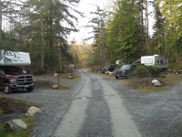 Deception Pass State Park on Washington's Whidbey Island has at least one campsite that's bigger than advertised.