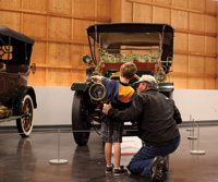 Youngsters can see automotive history at Tacoma's new museum.