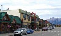 Everything is within an easy walk in downtown Jasper.