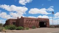 The Painted Desert Inn, built in 1924, served travelers on Route 66.