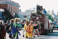 Settlers Day Parade in La Junta, Colorado.