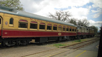 The Napa Valley Wine Trains uses vintage rail cars.