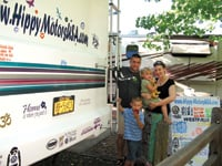 Jason and Shianne Condie run a business while RVing with their children.