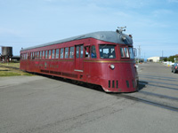 The Skunk Train takes riders on a scenic tour.