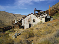 The Ruth Mine mill once processed 70 tons of ore a day.