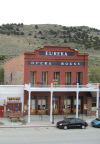 The Eureka Opera House is 134 years old this year.