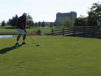 The Wildhorse Golf Club in Pendleton, Oregon is part of a resort that includes an RV park, hotel and casino.