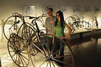 A museum is part of the U.S. Bicycling Hall of Fame in Davis.
