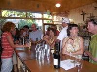 Wine tasting is popular in Yolo County.