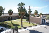 The entrance to the Yuma prison now leads to a museum.