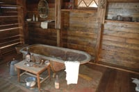 Visitors can see what life was like for miners at Castle Dome City.