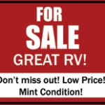 RV Buying Tips