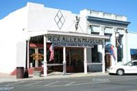 The Rex Allen Museum in Willcox, Arizona, honors a hometown hero.