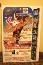 1975 poster for Rex Allen Days.