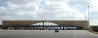 Drivers must pay at toll plazas to travel freeways in Europe.