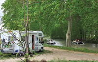 The Canal du Midi extends through France's most productive wine region.
