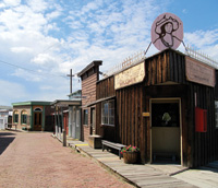 An 1890s mining town has been recreated at the World Museum of Mining.