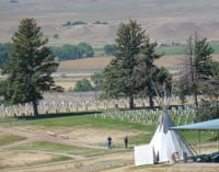 Custer National Cemetery is part of Little Bighorn Battlefield National Monument.