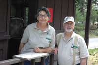 Marilyn and Joe Ulrich from St. Louis served on the volunteer staff at Idaho's Priest Lake.