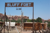 An arduous trip brought pioneers to this site in southeastern Utah.
