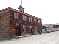 Built as a lodging house in 1879, this later became Bodie's school.