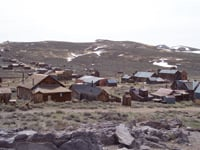 Bodie once served a population of 10,000, but only 170 buildings remain.