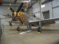 A North American P-51D Mustang is part of the Flying Heritage Collection.