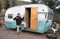 Vicky Nash expresses optimism before the trailer's restoration.