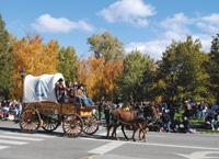 The annual Nevada Day parade celebrates statehood.
