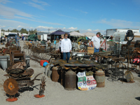 You can browse forever in Quartzsite.