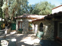 At Desert Hot Springs, you can stay in this bungalow built by Al Capone in 1919.