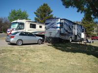 A campground in Cottonwood is near many attractions.