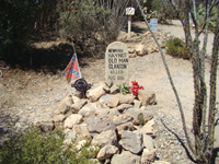 Old gunfighters are buried at Tombstone's Boothill Graveyard.