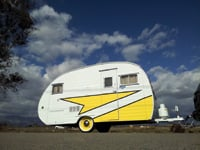Vintage Trailer Store in Ontario, California, put the Love Bug back in prime condition.