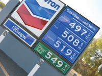 High gas prices may limit travel.