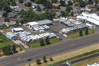 RV Sales of Oregon boasts a large motorhome inventory.