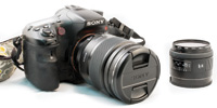 Sony DSLR Camera.