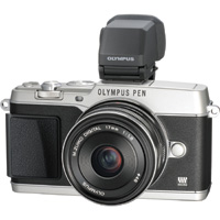Olympus Pen Mirrorless Camera.