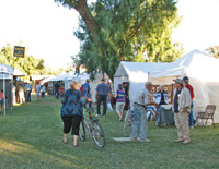 The annual Death Valley 49er Encampment includes arts and crafts.