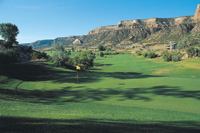 Tiara Rado Golf Course has splendid mountain views.