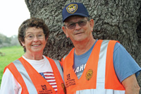 Reta and Richard Averill have held many seasonal jobs, including work as gate guards.