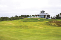 Punchbowl is the newly opened putting course at Oregon's Bandon Dunes.