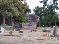 Whidbey Island pioneers are buried at Sunnyside Cemetery.