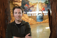 Camping experience helped art director Toby Wilson design Planes: Fire and Rescue.