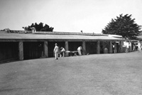 WPA workers constructed a clubhouse at the Harding Park Golf Course in San Francisco.